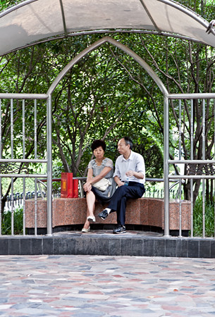 4) Couple in Gazebo