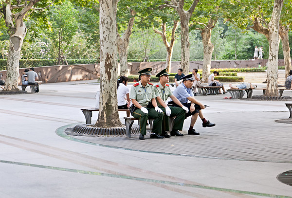 8) On Duty On Bench