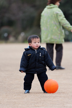 10)	Boy and Ball 1