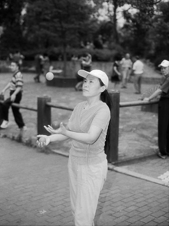 13) Woman Juggling