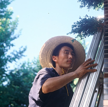 4) Gardner on Ladder
