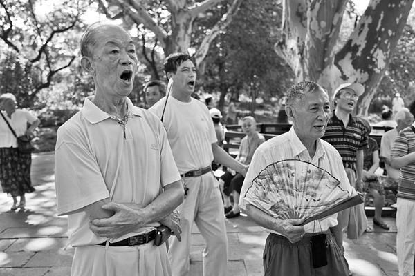 1) Three Men Singing
