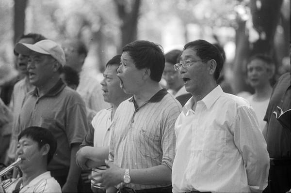 9) Men Singing