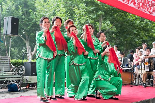 7) Green Women w Red Scarf 1
