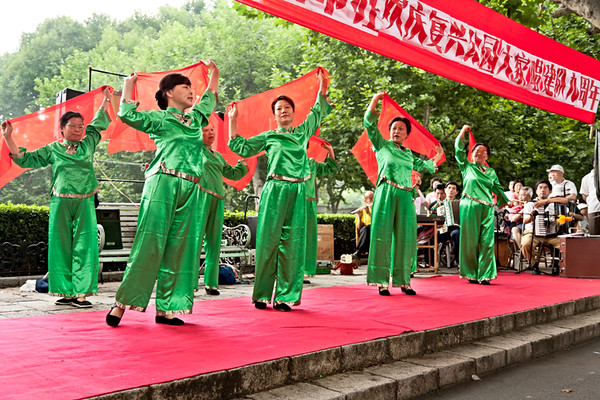 9) Women Dancing with Red Scarf 2