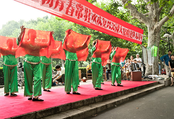 8) Green Women w Red Scarf 3