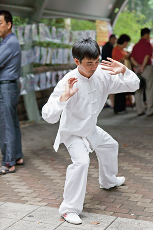 11) 	Tai Chi Man White