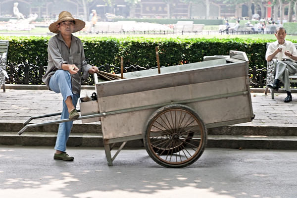 10)  Man With Cart