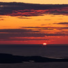 Sunrise on Cadillac Mountain in Acadia National Park in Maine. At 1,532 feet, Cadillac Mountain in Acadia National Park is the highest point along the North Atlantic seaboard and is the first place to view sunrise in the United States from early in October through March 6. It is on Mount Desert Island.