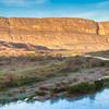 Early Morning Light over Rio Grande River at Santa Elena Canyon in Big Bend National Park.