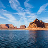 Lake Powell and the Glen Canyon National Recreation area, covering over a million acres with about 2000 miles of shoreline, is the second largest reservoir in North America. The Glen Canyon NRA is managed by the National Park Service.
