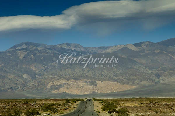 Enjoying a ride into Death Valley on a pleasant spring day.