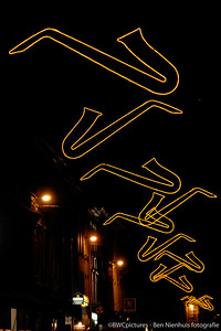 Feestverlichting saxofoontjes