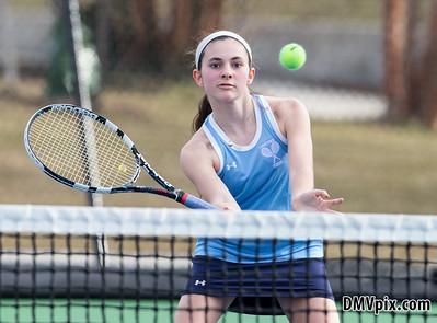 W-L @ Yorktown Girls Tennis (16 Mar 2015)