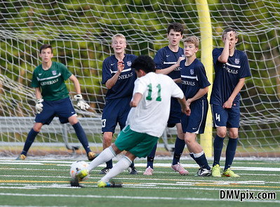 W-L @ Falls Church Boys JV Soccer (07 May 2015)