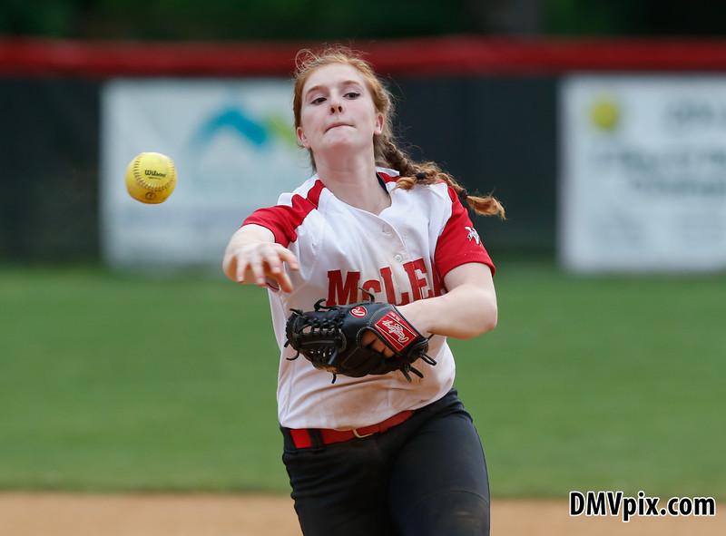 W-L @ McLean Varsity Softball (15 May 2015)