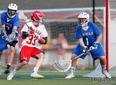 Fairfax @ McLean Boys JV Lacrosse (08 May 2015)