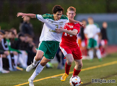 Jefferson @ Langley Boys Varsity Soccer (27 Apr 2015)