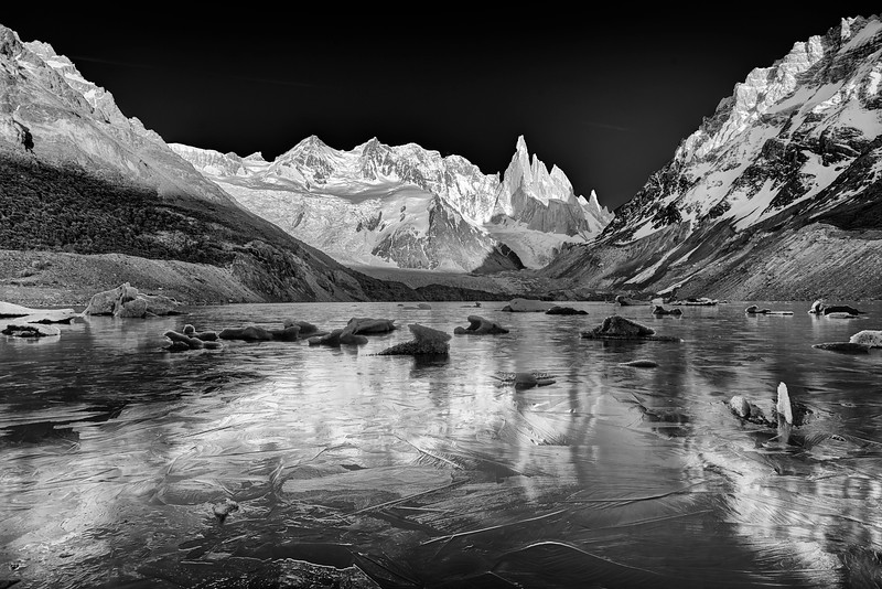 Dawn at Laguna Torre