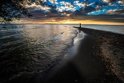 A Nicaraguan Sunset