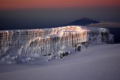 Sunrise over Mt Kilimanjaro Summit