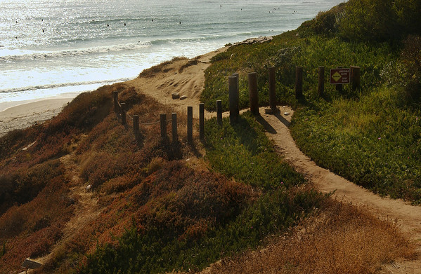Path to Pacific  - Pacific Beach, CA  (sign can be photoshopped out)