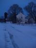 Snowy Twilight - Bauman Rd, Steinsburg