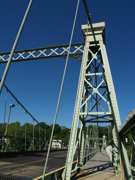 Roebling Bridge Path - Riegelsville