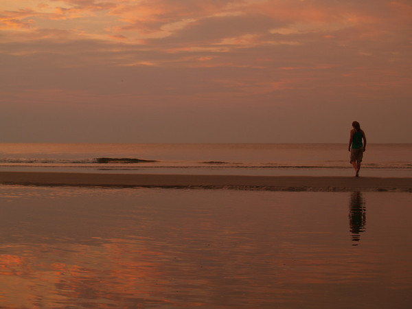 Sunrise Silhouette 4 - Hunting Island