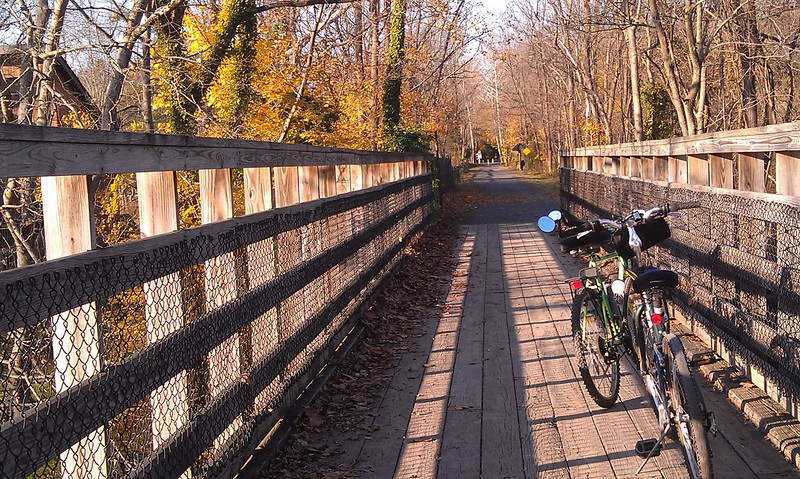 Footbridge over the Unami  2