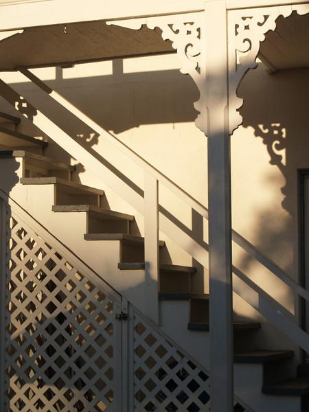 Shadowy Stairway - Lambertville