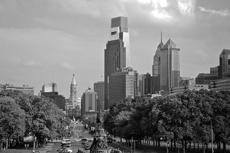 Downtown Philadelphia Skyline - Philadelphia, Pennsylvania
