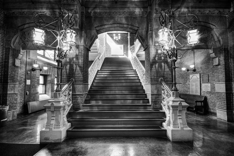Furness Library Staircase, University of Pennsylvania - Philadelphia, Pennsylvania