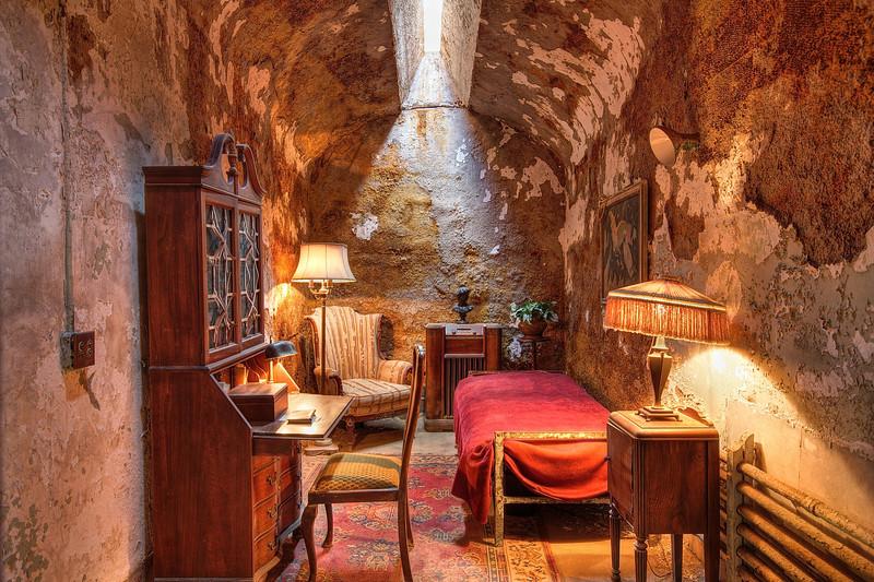Eastern State Penitentiary, Al Capone's Cell - Philadelphia, Pennsylvania