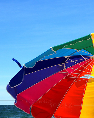 Beach umbrella, Ocean Grove NJ