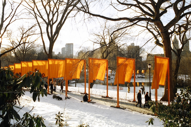"""""""The Gates""""; Central Park. NYC"""
