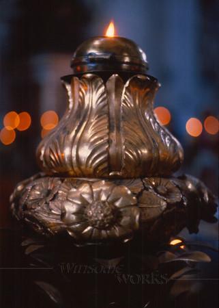 Eternal Flame of St. Peter - The Vatican, Vatican City, Italy