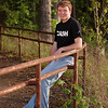 Senior Portrait by the old rail on Mark Twain Lake