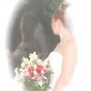 Bridal Portrait ~ Window Reflection