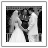 Outdoor Wedding Vow Exchange<br /> Ceremony was held at Garth Mansion in Hannibal, MO