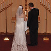 Lighting the Unity Candle - Wedding Ceremony