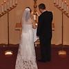Lighting the Unity Candle - Wedding Ceremony