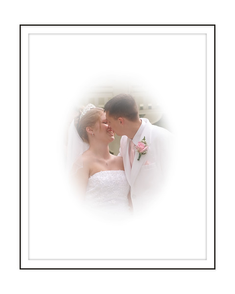 Wedding Kiss Portrait