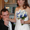 I get on my knees ~ Wedding Kiss<br /> This happened so quick... brought a joyful tear to my eye.
