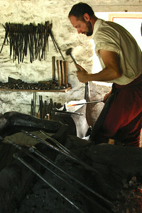 Blacksmith. Frontier Culture Museum, Virginia