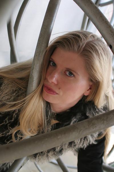 Actress Laura Denos