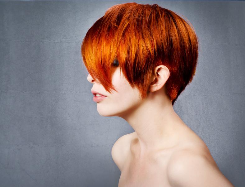 Model headshot for Bethanie Kaminski and stylist Krystle Steinbach