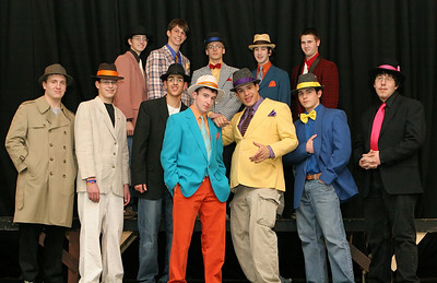002 GHS-Guys-Dolls Rehearsal-jlb-02-28-06-1084f Courier Cover Shot