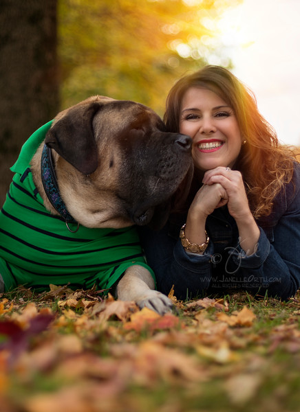George & mom  @2017 Janelle Orth