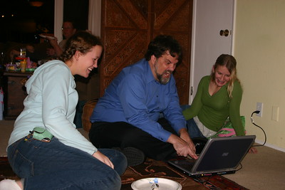 Uncle adds spice to nieces' computer game